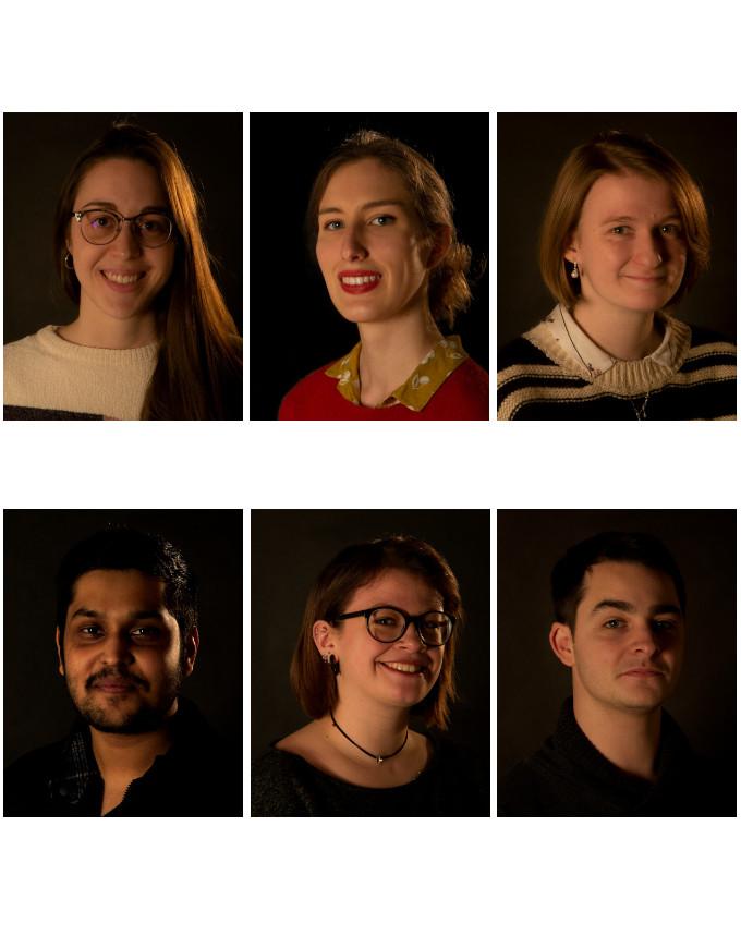 Clémence Ottevaere, Florence Blain, Louise Leblond, Varoon Indalkar, Morgane Ladjel, Hugo Valdelièvre-rattier